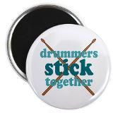 Funny Drummer Quotes magnet