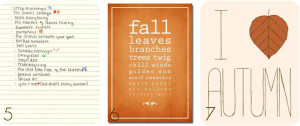 Autumn Foliage And Quotes