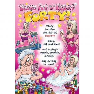 happy 40th birthday funny images funny happy 40th birthday clip art ...