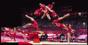 McKayla Maroney's near-perfect score vault during the team event ...