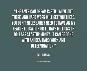 Quotes About American Dream