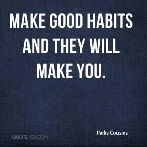 Good Habits Quotes