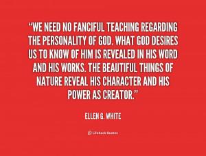 Ellen G White Quotes