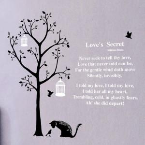 Tree, Cat and William Blake Quote DS-08220