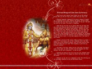 Bhagavad Gita Quotes HD Wallpaper 20