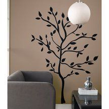 Walmart: Room Mates Tree Branches Peel and Stick Wall Decal