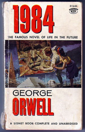 Differences between the book and movie 1984 released