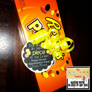 The Reese's Pieces boxes came from Walgreen's, but I have also seen ...
