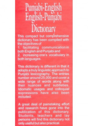 English To Punjabi Translation Dictionary Online