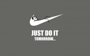 Just do it tomorrow funny Trollface Meme HD Wallpaper