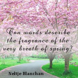 Neltje Blanchan on the fragrance of spring season