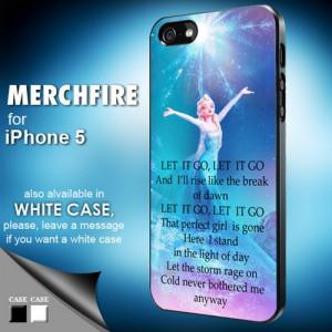 Elsa frozen quote - Iphone 5 Case | merchfire - Accessories on ArtFire