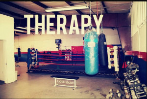 Kickboxing = Therapy & Stress Relief