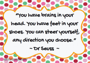 ... image of a quote by one of the best authors of all times… Dr. Seuss