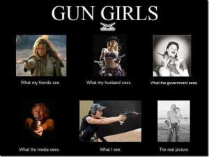Gun Bunny: Gun Girls