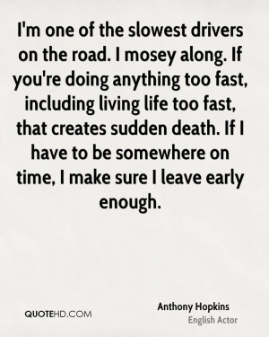 Anthony Hopkins Death Quotes | QuoteHD