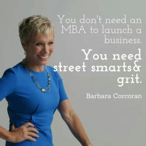 Barbara Corcoran!