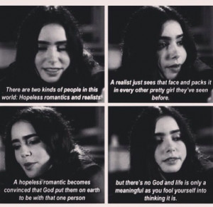 Lily collins stuck in love