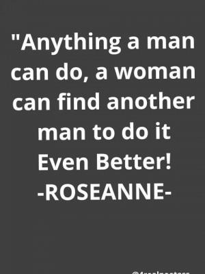 ROSEANNE BARR!