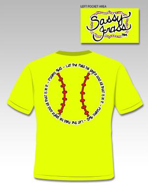 Softball Scripture Tee-Softball Scripture Tee faith ball fields