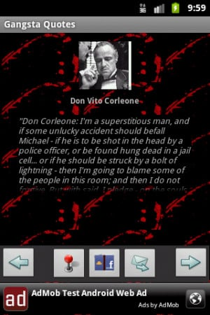 Real Gangsta Quotes Wallpapers