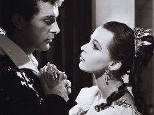 Richard Burton and Claire Bloom in Zeffirelli's Romeo and Juliet ...