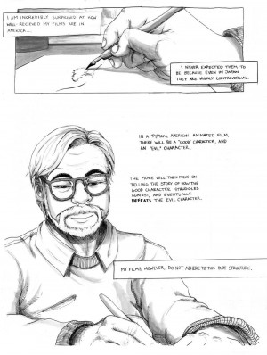 Quotation from Hayao Miyazaki