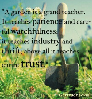 Quotes About Herb Gardens Quotesgram