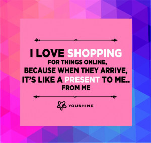 Online shopping , quotes , girls , women , love #cracksmeup #iloveCAbi ...