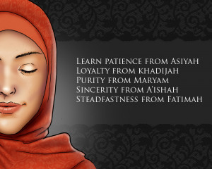 Sayings of the Mothers Of Muslims Ummah