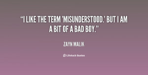 Am Misunderstood Quotes Preview quote