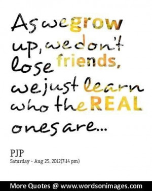 Quotes about growing up