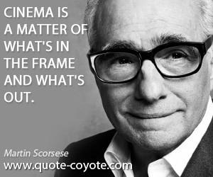 Quote Martin Scorsese Films