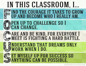 ... Classroom Quote, Classrooms High School Quotes, Classroom Management