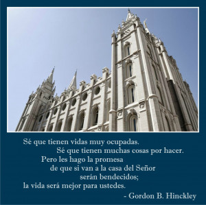 Buscando a Dios en los templos mormones