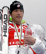 Bode Miller , U.S. Olympic skier