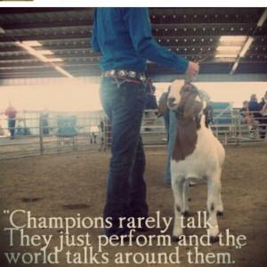Every livestock ffa person will agree