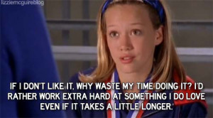 Lizzie Mcguire Quotes Its werid looking back at the