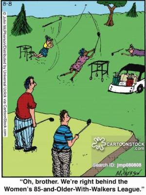 related topics golf golfing golfer golfers stuck behind slow slowly