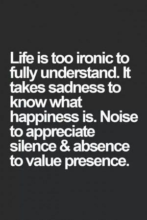 life is too ironic...