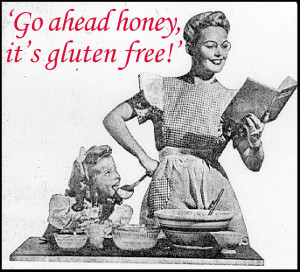 "Go Ahead Honey…It's Gluten Free"" Theme for February!"