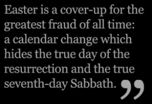 Today you can choosewhich day represents your beliefs - Passover or ...