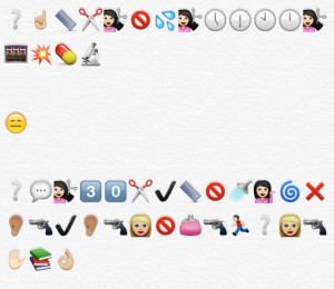 iconic moments and quotes, retold in emoji