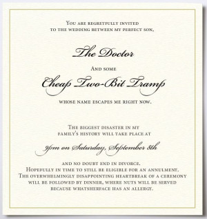 ... of people is illegal!: Wedding Invitation Gone Horribly Wrong... LMAO
