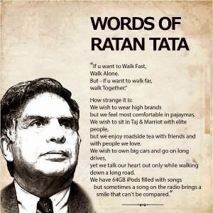 inspiring pearls of wisdom from Ratan Tata