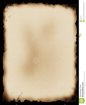 Burnt Paper Stock Photos - Image: 117973