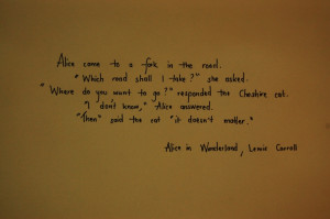 Alice in Wonderland quote #SpiritHood #Inner #Animal