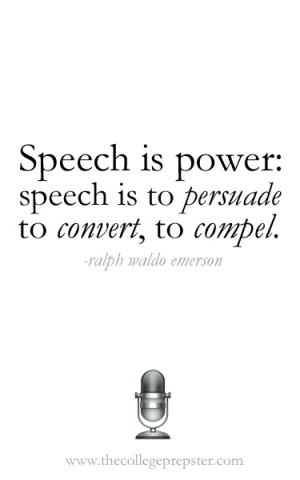 last week to do a post about public speaking. I love public speaking ...