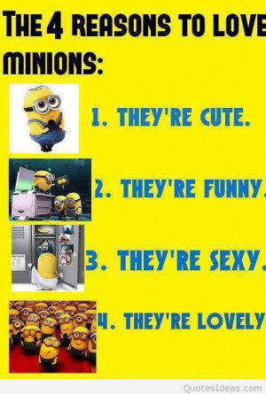 Cartoons minions quotes and funny minions pics
