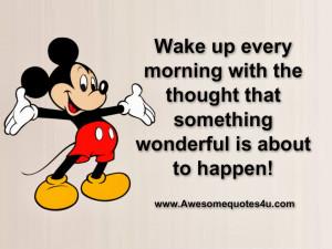 Good Morning Wake Up Quotes